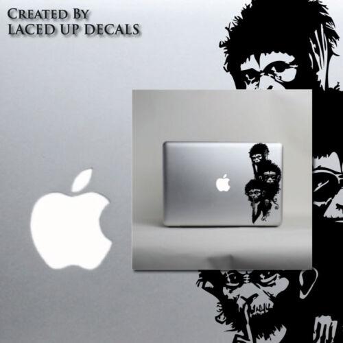 Hear no evil laptop skin decal sticker See no evil