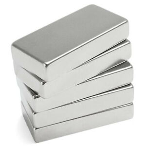 50X25X10mm-N52-Super-Aimant-Neodyme-Neodymium-Puissant-Magnets-Magnetique-Bloc