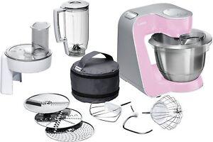 Bosch-MUM58K20-Robot-Cuisine-1000W-3-9L-Acier-Inoxydable-Petrisseur-3D-Neuf
