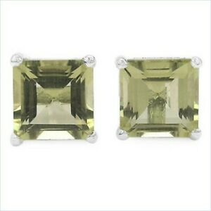 Ohrringe-Ohrstecker-Milla-925er-Silber-1-25-Kt-echter-LemonTopas-5-mm-Square