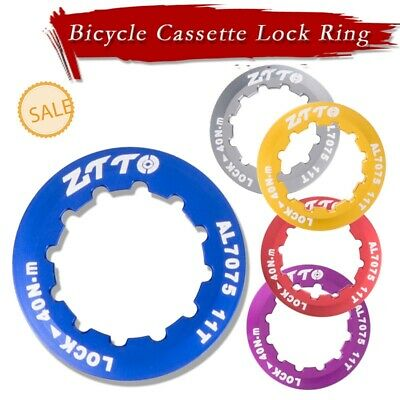 ZTTO Aluminum Bicycle Cassette Lock Ring Fit All SRAM//Shimano 9 10 11 12 Speed