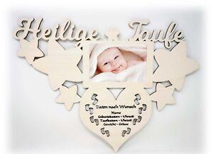 Baby Geschenk Name Bilderrahmen Geschenke Zur Taufe Geburtstag