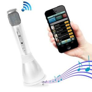 Bluetooth-Karaoke-Microphone-Speaker-System-with-Wireless-Megaphone-Style-Mic