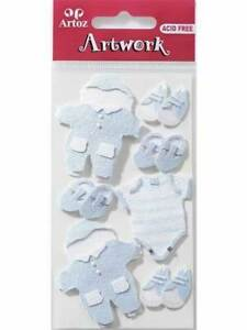 Artoz Pirate Craft Embellishment Stickers Card Making Scrapbooking New