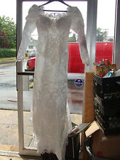 Wedding Womens Dress Biljoy Creation White Long Sleeve