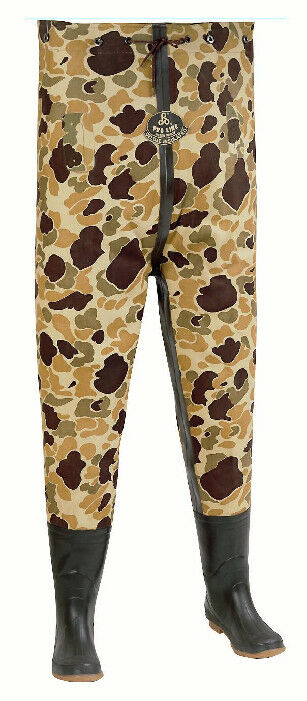 Proline 710-8 Camo 3 Ply Canvas Insulated Chest Wader Size 8 15992