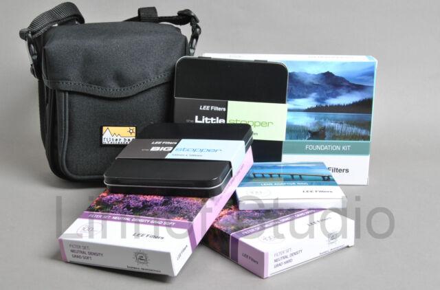 LEE Filters 100mm Holder, Adapter, Hard + Soft ND grad set, Big + Little Stopper