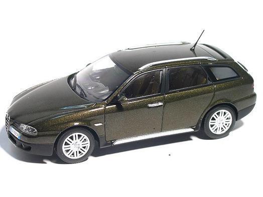 Alfa Romeo Crosswagon 2004 2004 2004 Olive metallic 1 43 400120410 Minichamps c4a079