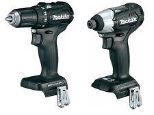 "New Items: Black Makita XFD11 18V 1/2"" Brushless Drill + XDT15 Brushless Impact"