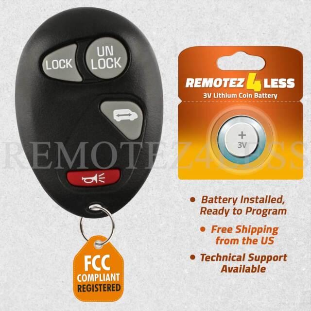 Car Key Fob Keyless Entry Remote For 2001 2002 2003 2004 2005 Chevrolet Venture