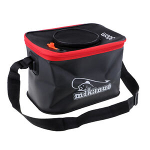 Pump Bucket Fly Carp Bag Folding Outdoor Barrel Fishing Bucket Collapsible