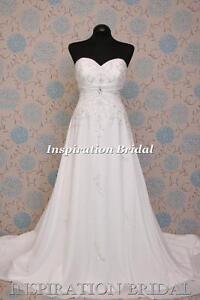 1579-White-Ivory-wedding-dress-2105-strapless-A-line-corset-back-chiffon-plus-UK