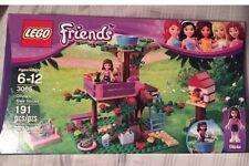 LEGO 3065 Friends Olivia's Tree House set  NEW Sealed In Box Cat Bird 191pcs