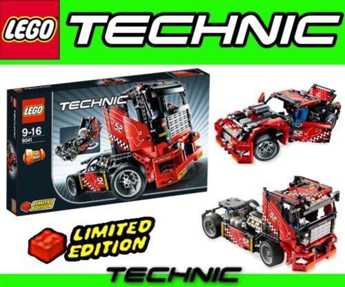 LEGO TECHNIK 8041 Renn-Truck TRUCK RENNWAGEN 2 in 1