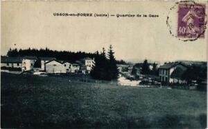 CPA-Usson-en-Forez-Quartier-de-la-Gare-663911