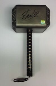 Stan Lee Signed Autographed Marvel Comics Mighty Thor Hammer Stan Lee Hologram
