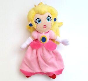 Super Mario Bros Mario Princess Peach Plush Doll Figure Soft Toy 7 inch Gift Hot