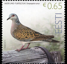 Estland / Estonia - Postfris/MNH - Bird of the Year, Turtledove 2017