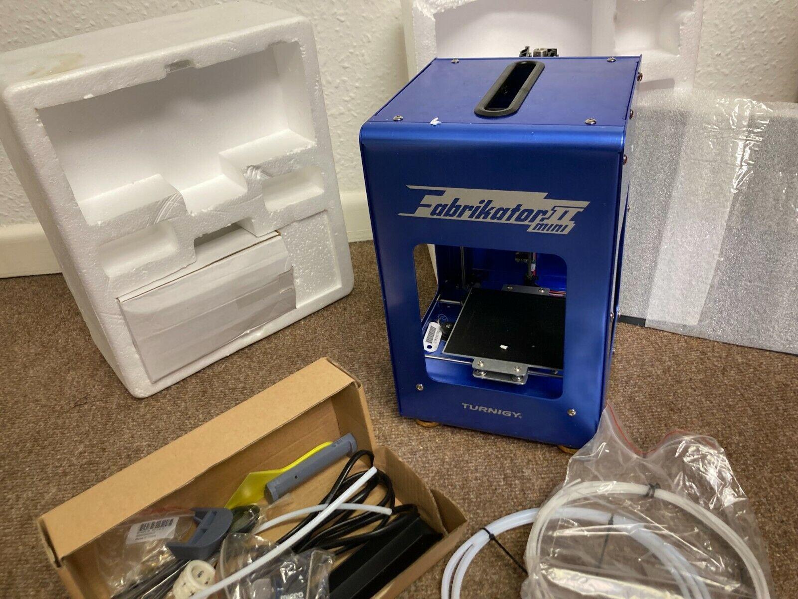 Turnigy Fabrikator Mini 3D Printer Unused in Box Blue