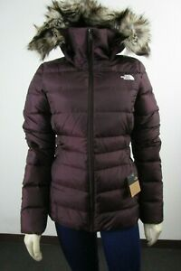 NWT Womens The North Face TNF Gotham Jacket II 550-Down Winter Jacket Root Brown