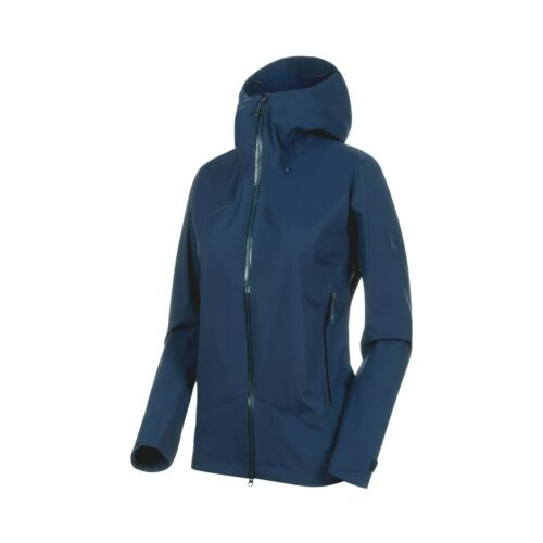 Mammouth Femmes wanderjacke Pluie Veste Kento HS Hooded Jacket W /'S MAMMOUTH NOUVEAU *