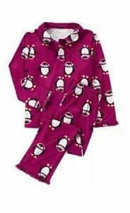 NWT Gymboree HOLIDAY SHOP Girls Sz 12 18 24 Months Penguin Top /& Pants 2-PC SET