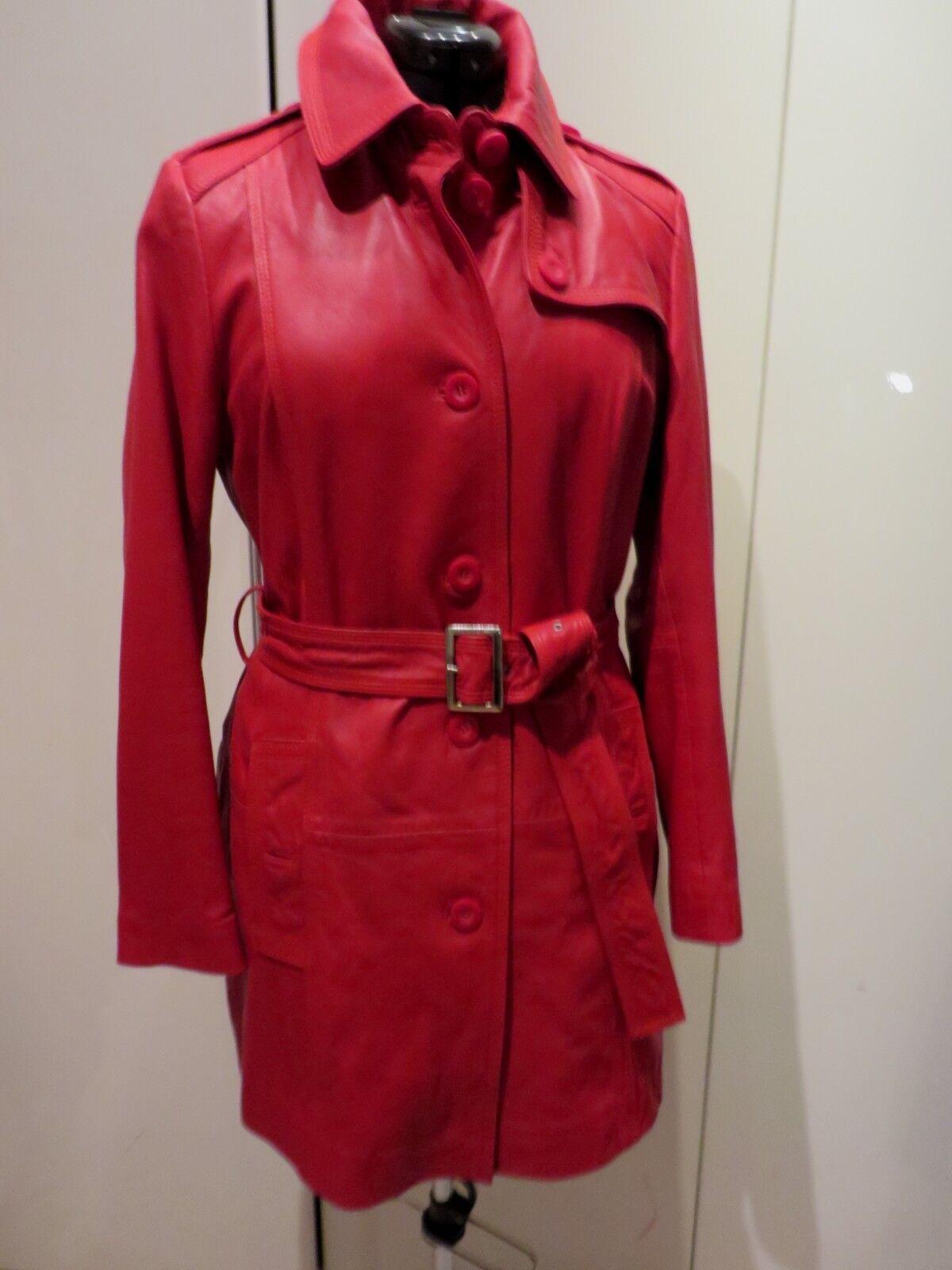 Alba Moda Ledermantel rot neu Gr.40 Gr.40 Gr.40 zara   | Zu einem niedrigeren Preis  | Meistverkaufte weltweit  | Hohe Qualität  | Fuxin  | Erste Qualität  228ef0