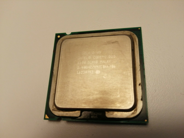 CPU, Intel, Intel® Core™2 Duo Processor E6600, God, Socket:…