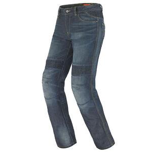 JEANS-LADY-SPIDI-J-amp-RACING-J39-COLORE-BLUE-DARK-USED-804-VARIE-TAGLIE