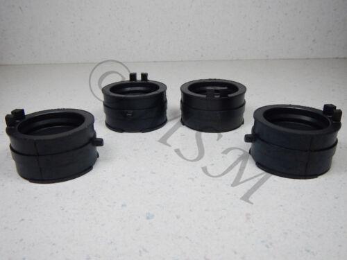 87-90 Honda CBR600F Hurricane K/&L Carburetor Intake Flange Boot Set 0119-053