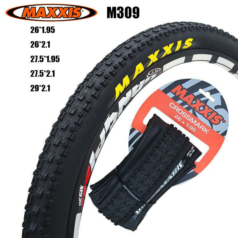 MAXXIS M309 Bike Tyre 26 27.5 29 Mountain Bicycle 1.95 2.1 CROSS MARK 60TPI Tire