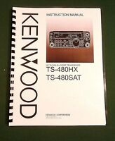 Kenwood Ts-480sat / Ts-480hx Instruction Manual: Card Stock Covers & 32lb Paper