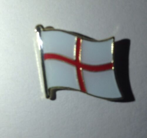 New condition England English St George Cross Country Flag Enamel Pin Badge