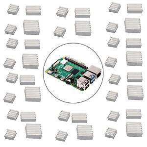 Aluminum-Heatsink-Radiator-Cooler-Kit-with-Sticker-40PCS-Raspberry-Pi-4B-Model-B