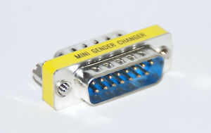 Stecker// Stecker SUB-D Gender Changer   15pol