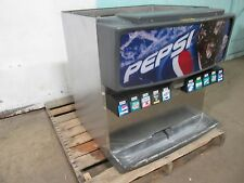 """""""SERVEND"""" H.D. COMMERCIAL COUNTER-TOP LIGHTED 10 HEADS SODA DISPENSER w/ICE BIN"""