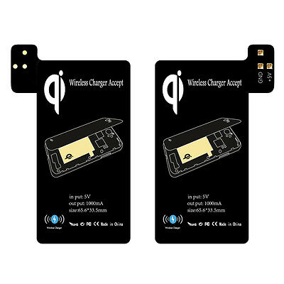 Qi Wireless Charging Receiver Support Smart Case for Samsung Galaxy S5 i9600 TR