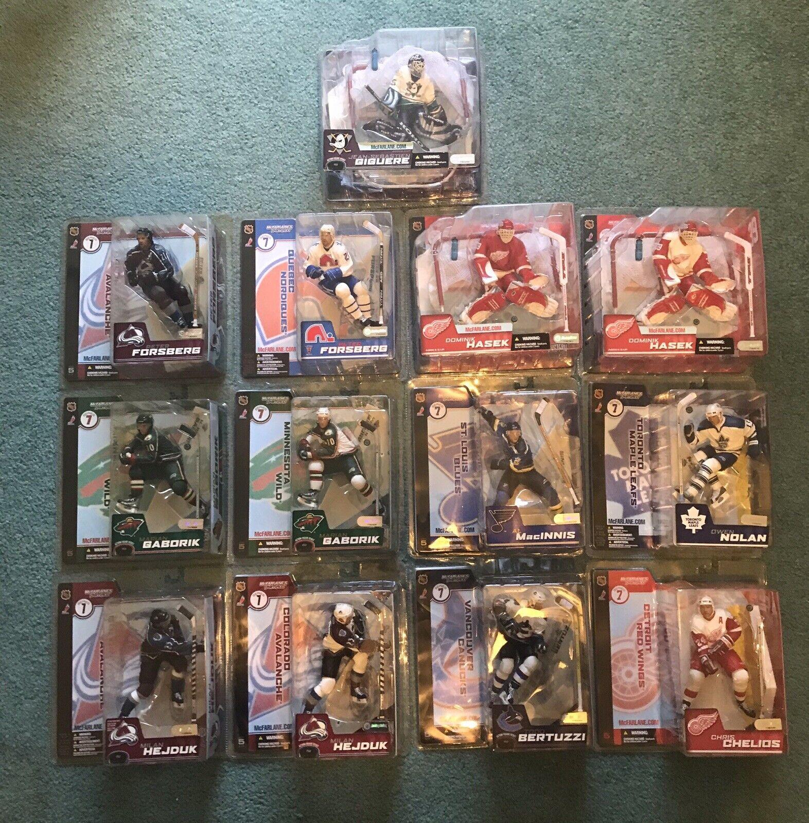 McFarland 7 NHL hockey, 9 más 4, transformación 13.