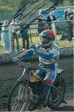 PAUL COOPER HAND SIGNED SCUNTHORPE SCORPIONS SPEEDWAY 6X4 PHOTO 15.