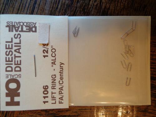 """Detail Associates HO #1106 Lift Ring /""""ALCO/"""" FA//PA//Century"""