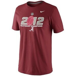 Alabama-Crimson-Tide-2012-National-Champions-t-shirt-Nike-New-BAMA-Roll-Tide