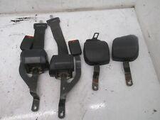 Vw Mk2 91 92 Black Seat Belt Assemblies Set Of 4 Jetta Gli