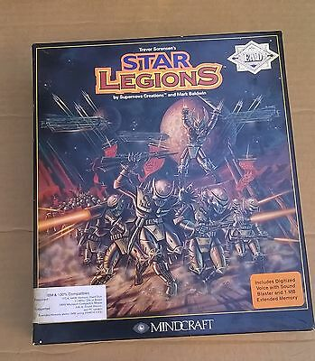 "Star Legions by Mindcraft Supernova Creations 3.5"" Disks Strategy Game"