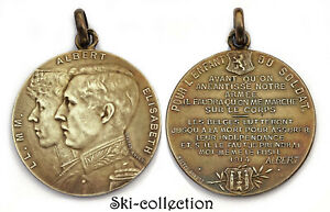 Medal-Albert-I-of-Belgique-for-and-Child-the-Soldat-1914-1-GM-WW1-925