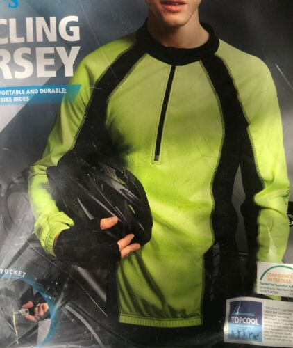 L New Crivit Sport Men's Cycling Jersey SIZE