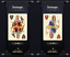Charlemagne-Playing-Cards-New-Figures-SWAROVSKI-CRYSTAL-Limited-Edition-S thumbnail 7