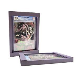 Graded Comic Book Display Frame, Purple, Fits all Slabs, CGC, PGX, CBCS