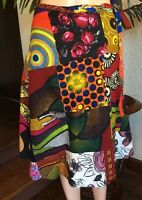 Lady Mia's Of Africa Women's African Wrap Skirt One Size 100% Cotton Wax