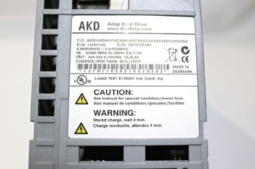Danfoss ADAP-KOOL  AKD102P4K0T4E20H1XGCXXXSXXXXAXBXCXXXXDX Gebraucht//Used
