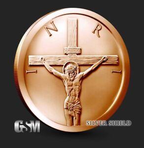 1-oz-Copper-Round-Crucifixion